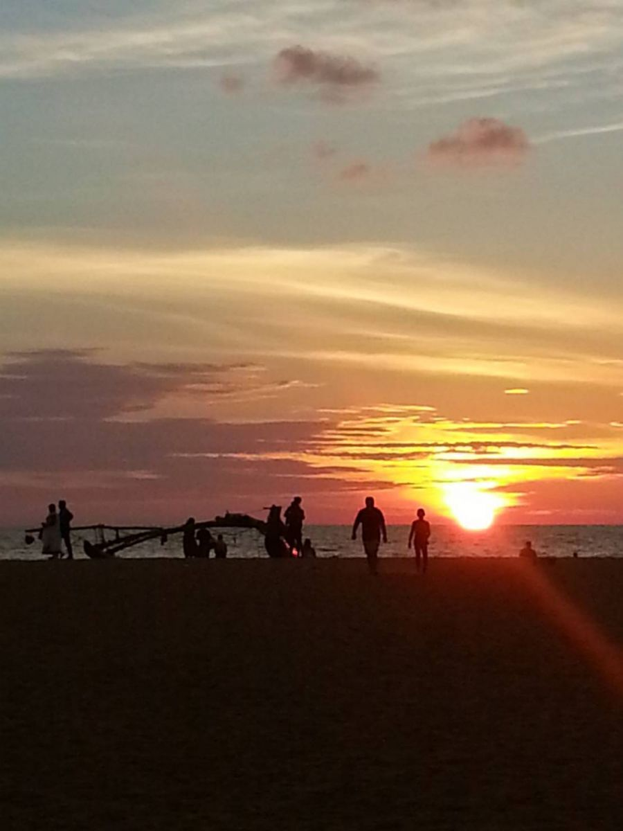 スリランカの夕日❕
